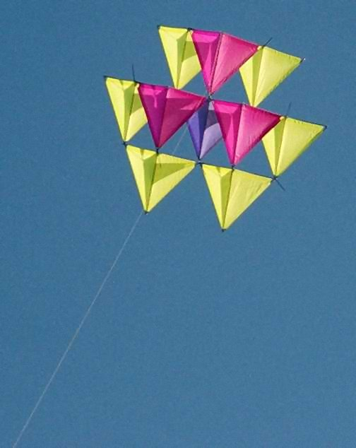 The forming of the Tetrahedron Flyers